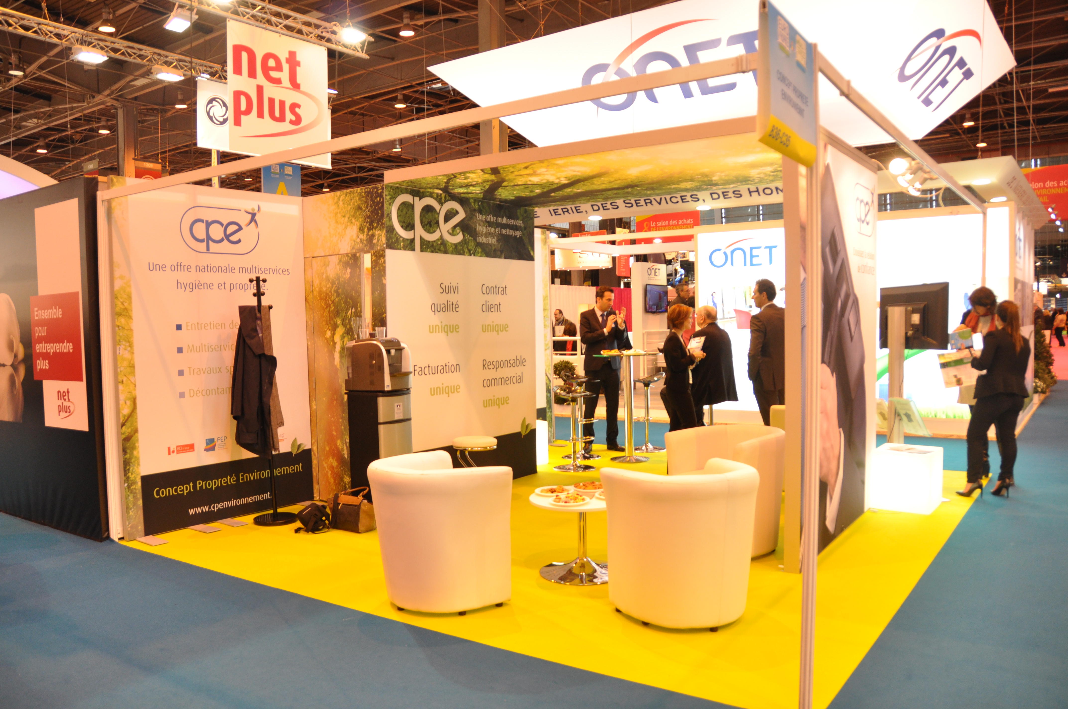 Participation au salon Europropre du 30 mars au 3 avril 2015