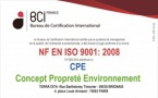 Renouvellement ISO 9001 : 2008